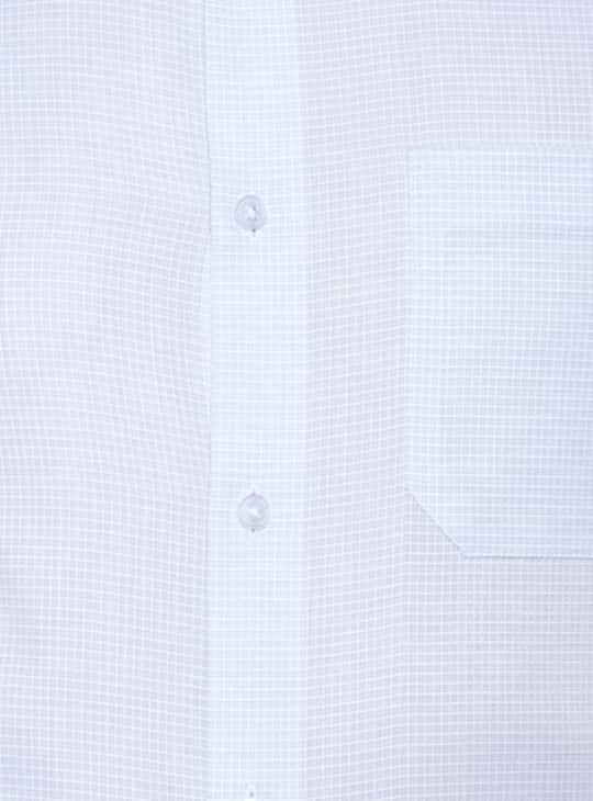 LOUIS PHILIPPE Men Solid Regular Fit Formal Shirt
