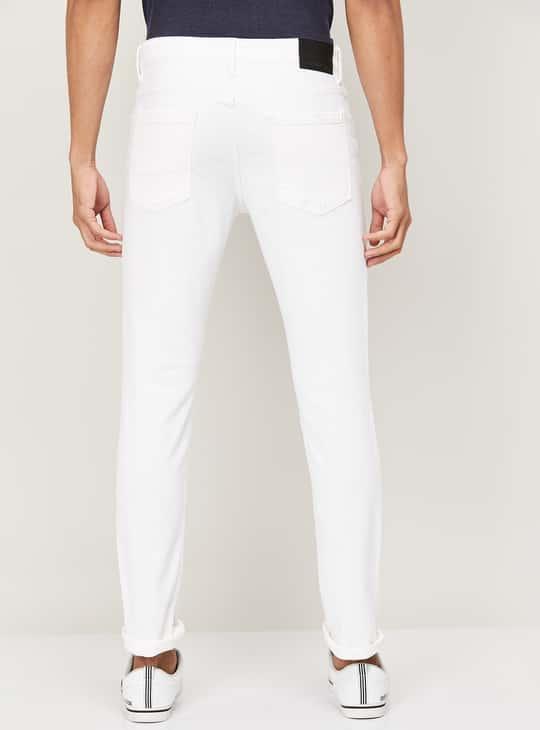 DENIMIZE Men Solid Skinny Fit Jeans