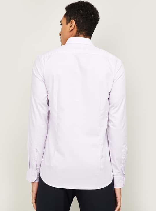 CODE Men Checked Slim Fit Formal Shirt