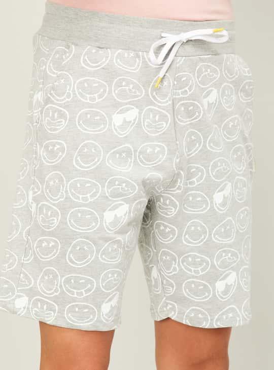 SMILEYWORLD Men Printed Shorts