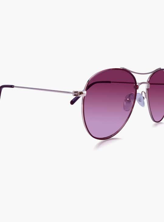 O2GEN Women Solid Aviator Sunglasses - O2-21-013-C1