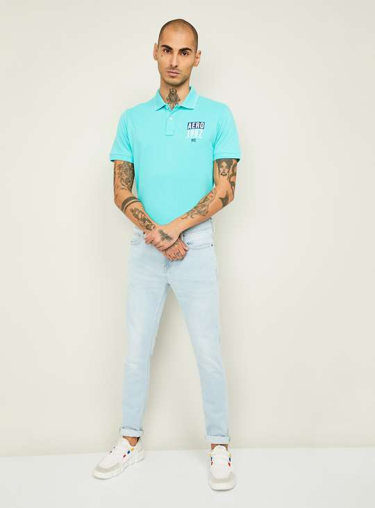 UNITED COLORS OF BENETTON Men Stonewashed Skinny Fit Jeans