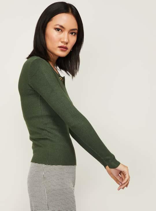 CODE Women Knitted Top
