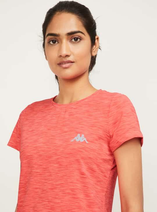 KAPPA Men Solid Sports T-shirt