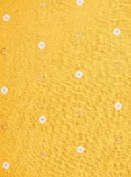 MELANGE Women Printed A-Line Three-Quarter Sleeves Kurta