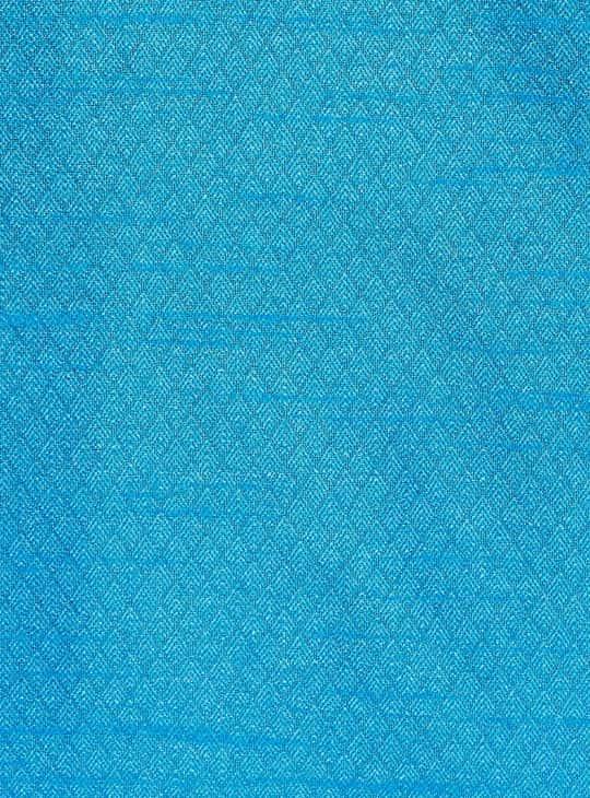 MELANGE Textured Full Sleeves Kurta