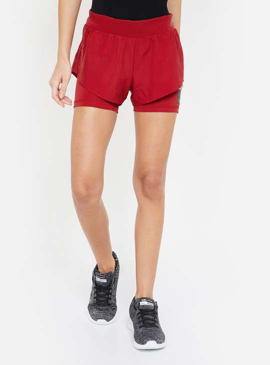 ADIDAS Women Solid Sports Shorts