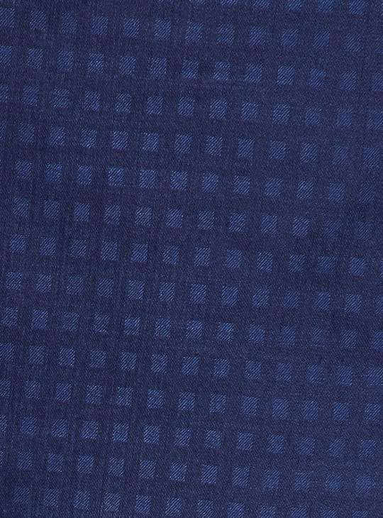 MANYAVAR Patterned Asymmetric Achkan Kurta