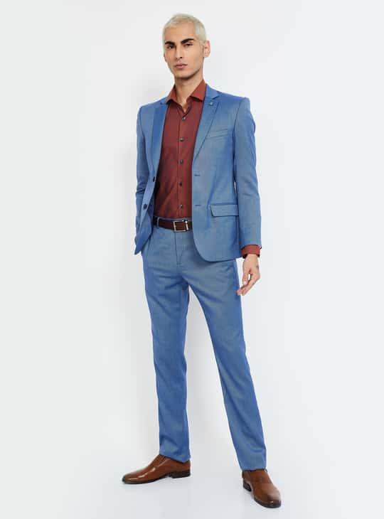 CODE Dobby Textured Regular Fit Formal Shirt
