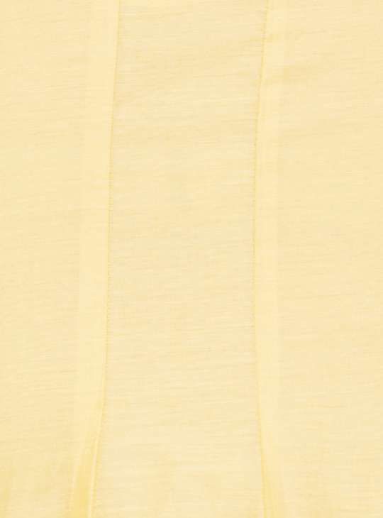 MELANGE Embellished Notch-Neck Flared Kurta