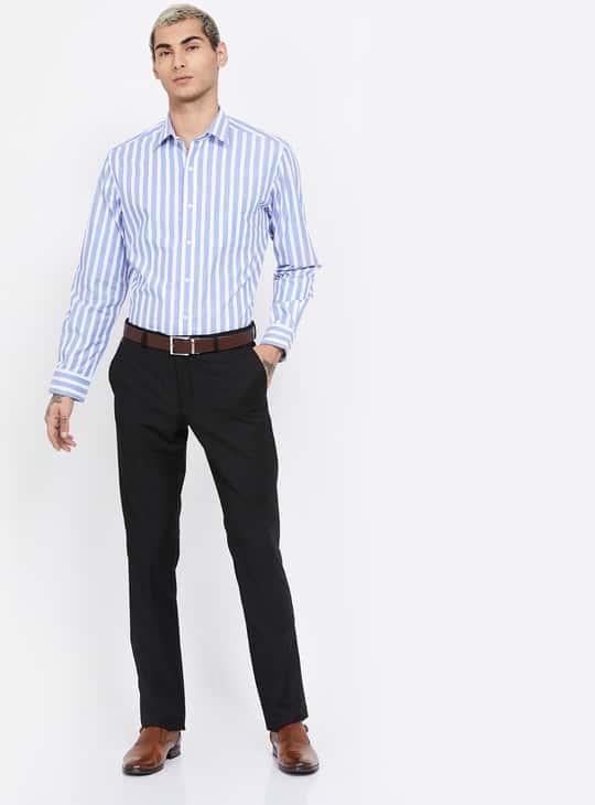 ARROW Striped Regular Fit Formal Shirt