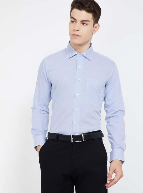 VAN HEUSEN Printed Slim Fit Formal Shirt