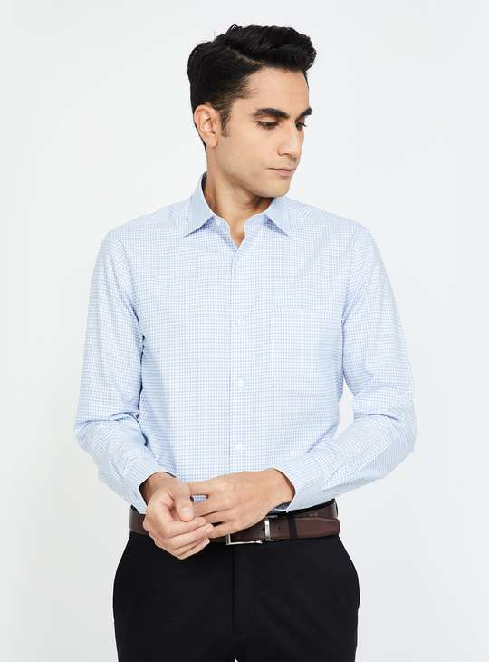 LOUIS PHILIPPE Checked Regular Fit Shirt