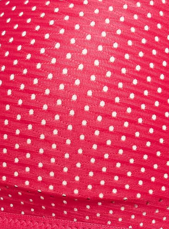 TRIUMPH Polka Dots Pattern Sports Bra
