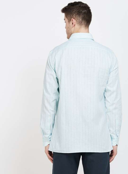 LOUIS PHILIPPE Striped Regular Fit Casual Shirt