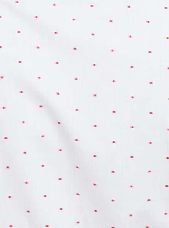 LOUIS PHILIPPE Printed Full Sleeves Regular Fit Formal Shirt