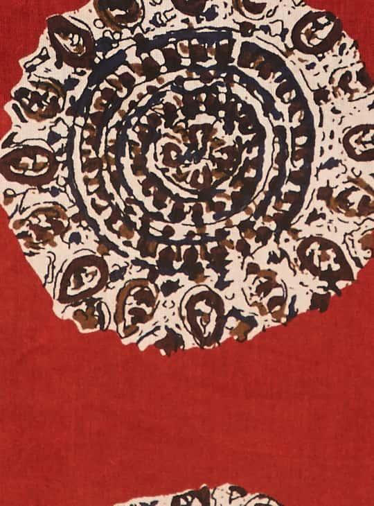 MELANGE Women Printed Sleeveless Kurta with Shrug
