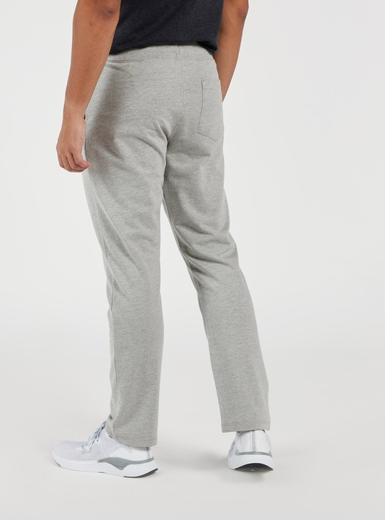 Printed Full Length Track Pants with Elasticised Waistband