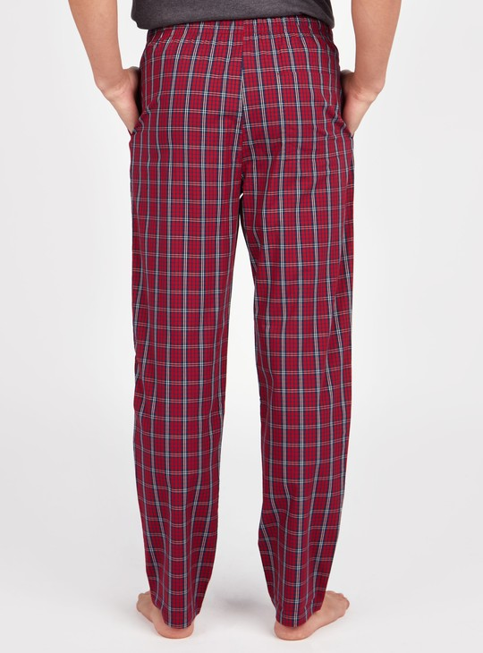 Chequered Pyjamas with Pocket Detail