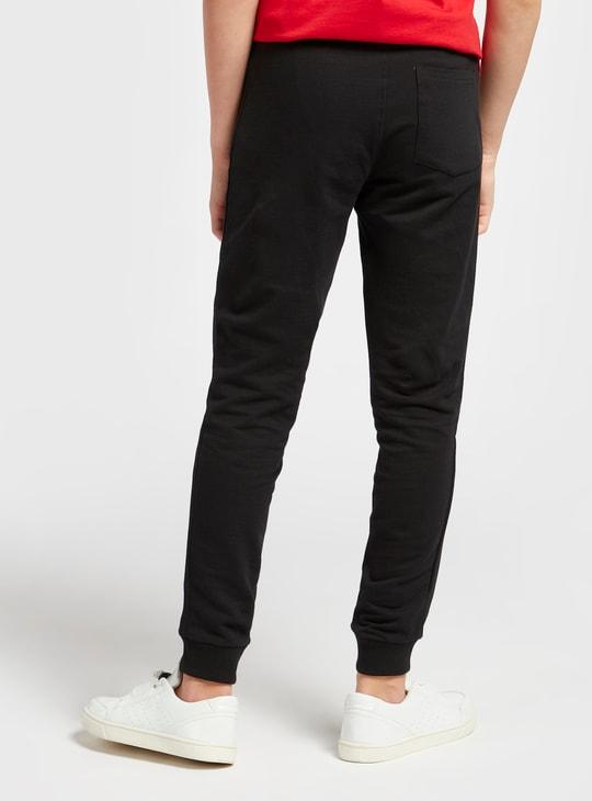 Bugs Bunny Print Jog Pants with Pockets and Drawstring