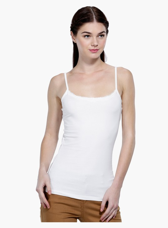 Solid Sleeveless Camisole