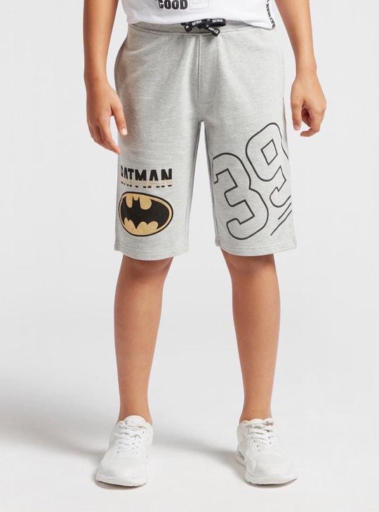 شورت برباط وجيوب وطبعات باتمان