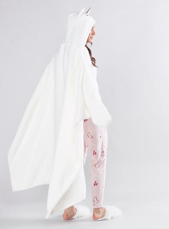 بطانية كاب بارزة الملمس بقبعة - تشكيلة كوزي