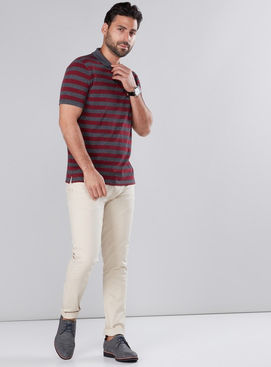 Pocket Detail Chinos in Regular Fit