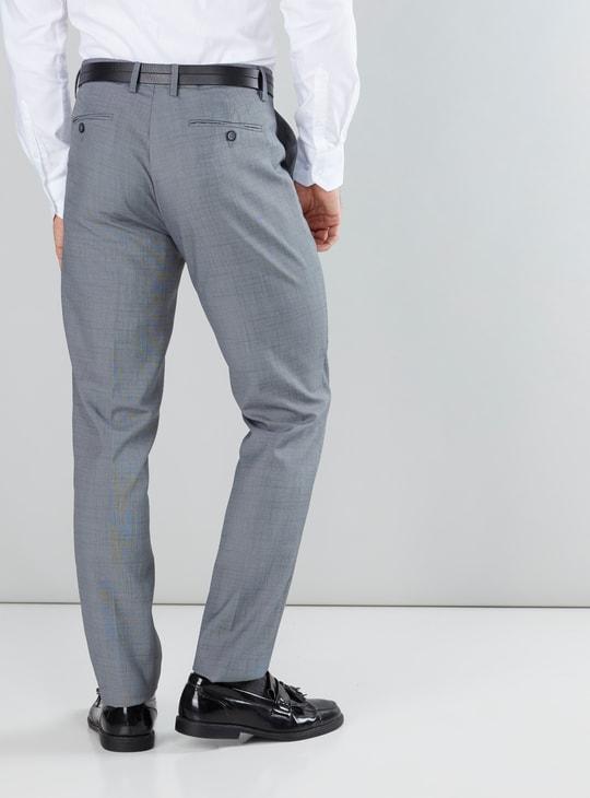 Pocket Detail Pants in Slim Fit