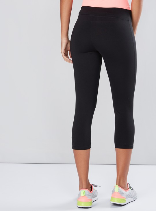 Capris with Elasticised Waistband