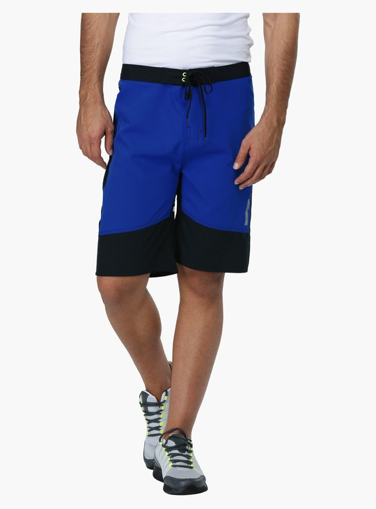 Knee Length Shorts with Elasticised Waistband