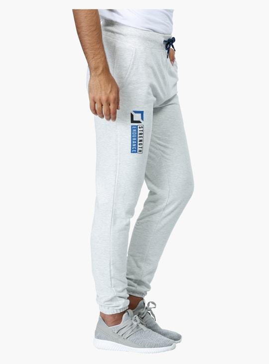 Printed Full Length Jog Pants
