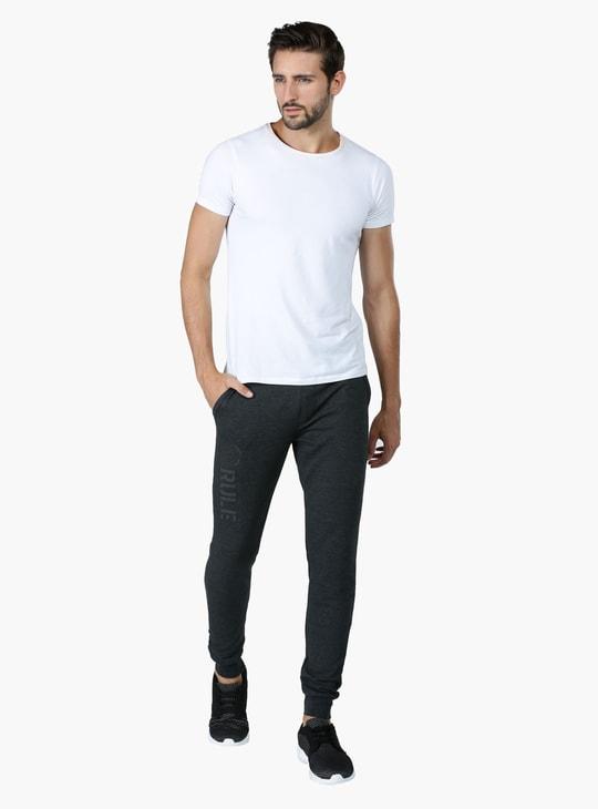 Full Length Jog Pants with Elasticsed Waistband