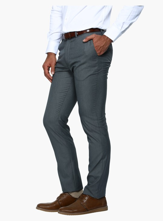 Slim Fit Formal Trousers