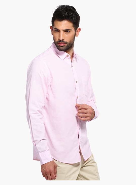 Long Sleeves Shirt with Patch Pocket