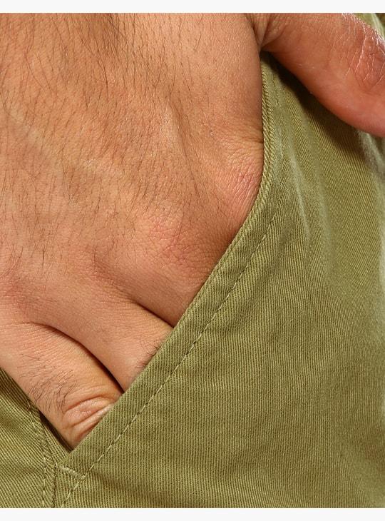 Full Length Slim Fit Cuff Trousers
