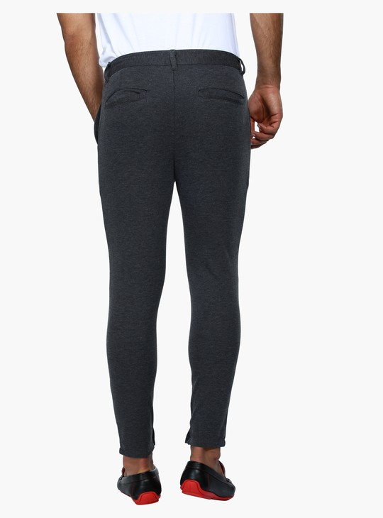 Knitted Pants with Zippered Cuffs