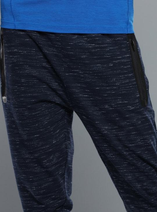 Printed 3/4 Pants with Zip Detail