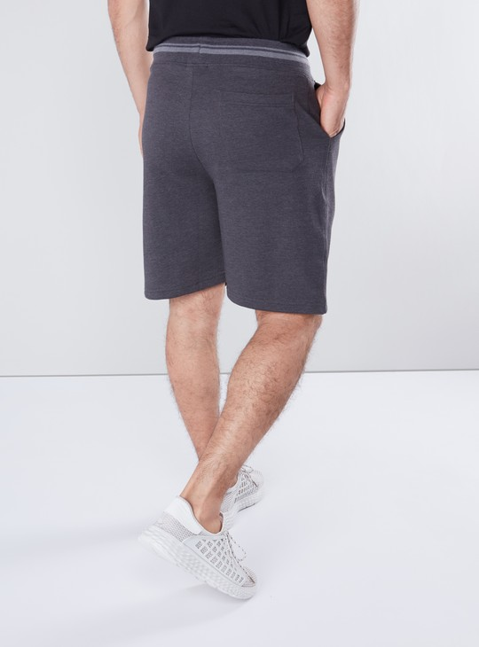 Pocket Detail Shorts with Drawstring Closure