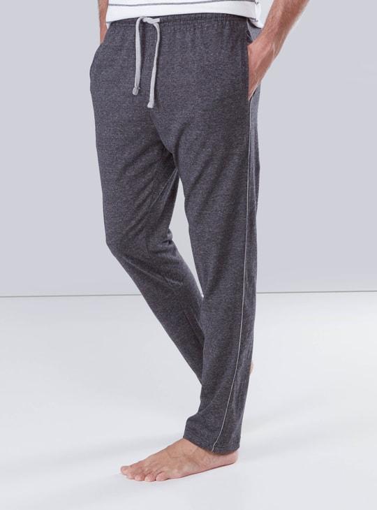 Pocket Detail Pyjamas with Drawstring Waistband