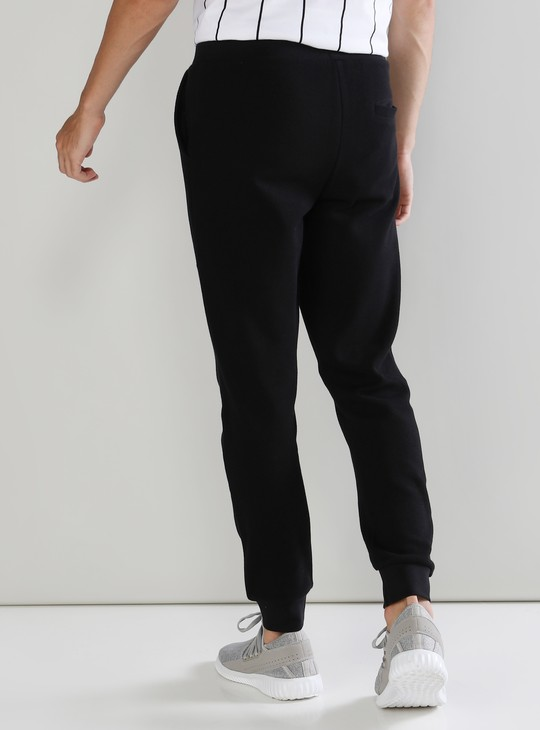 Pocket Detail Full Length Jog Pants with Drawstring