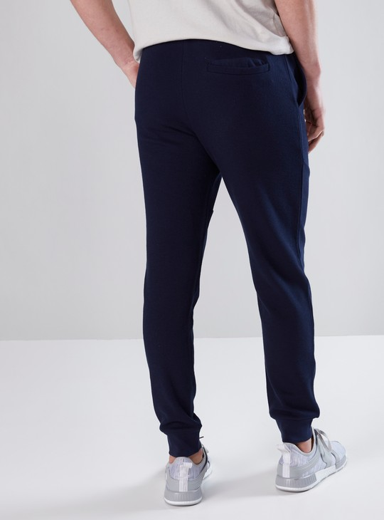 Full Length Jog Pants in Slim Fit with Pocket Detail