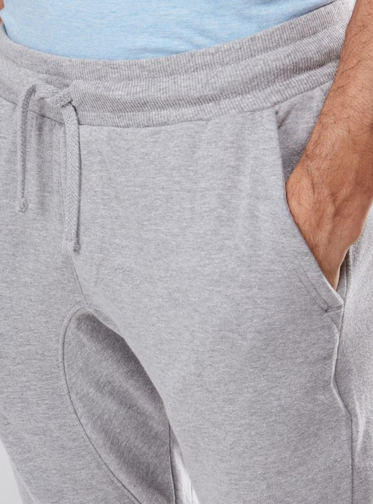 Pocket Detail Capris with Elasticised Waistband