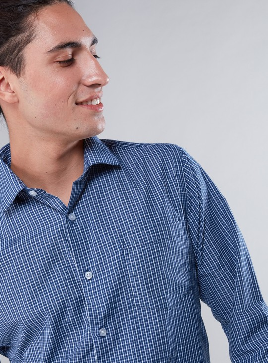 Chequered Shirt in Regular Fit