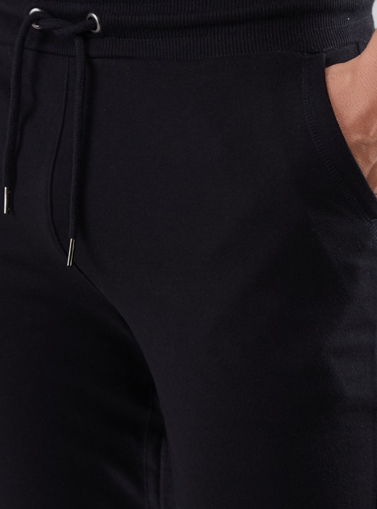 Full Length Jog Pants with Elasticised Waistband and Pocket Detail