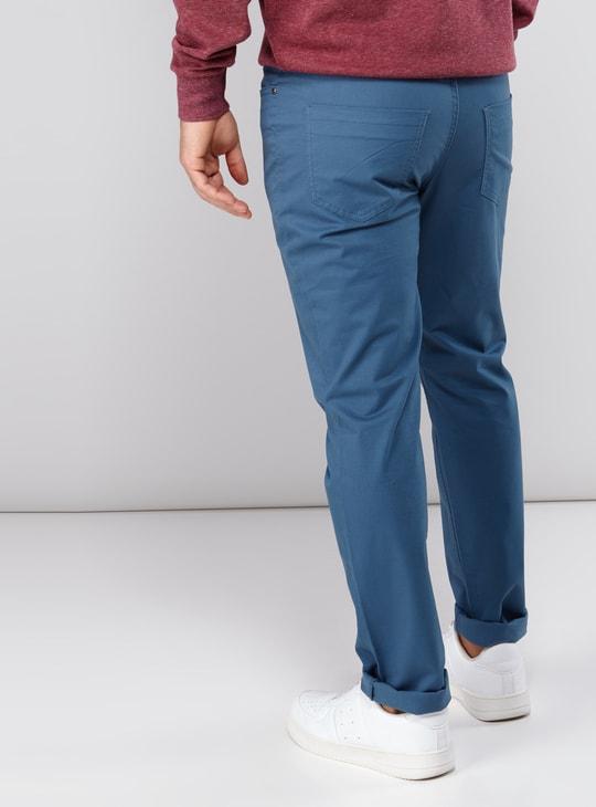 بنطال طويل سليم فيت بـ5 جيوب