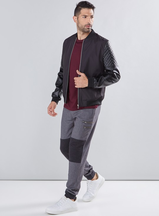 Ful Length Jog Pants with Elasticised Waistband and Pocket Detail