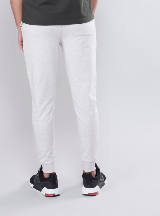 Solid Joggers with Drawstring