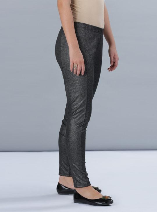 Shimmer Leggings with Elasticised Waistband