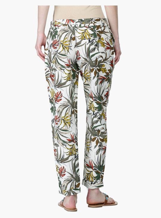 Printed Full Length Harem Pants